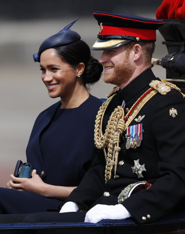 Duchess of Sussex makes her first public appearance since giving birth.