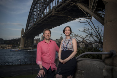 David and Anthea Hammon, whose family business runs Scenic World in the Blue Mountains and won a 20-year contract to operate climbing activities on the Sydney Harbour Bridge.