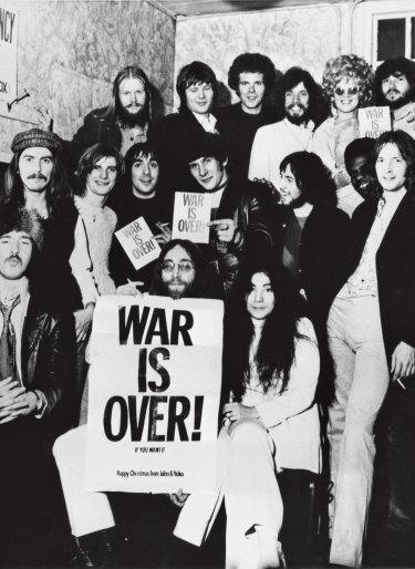 The Plastic Ono Supergroup.