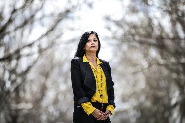 'There's a feeling of futility and powerlessness': Professor Jayashri Kulkarni.