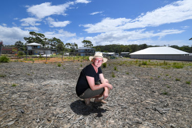 Shoalhaven mayor Amanda Findley near one of the new developments in the region.