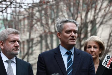 Fifield, Cormann and Cash.