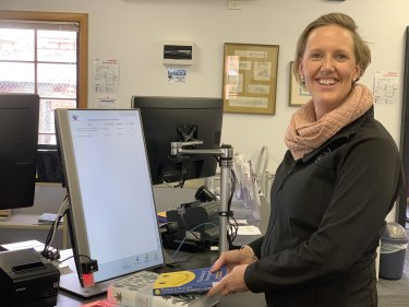 West Gippsland Libraries chief executive officer Leanne Williams.