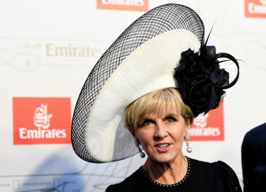 Hat lover Julie Bishop set to return to the Birdcage for Flemington's Spring Racing Carnival.