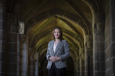Former diplomat Georgina Downer has been appointed as the inaugural director of the Robert Menzies Institute at Melbourne University