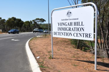 The Yongah Hills Immigration Detention Centre.