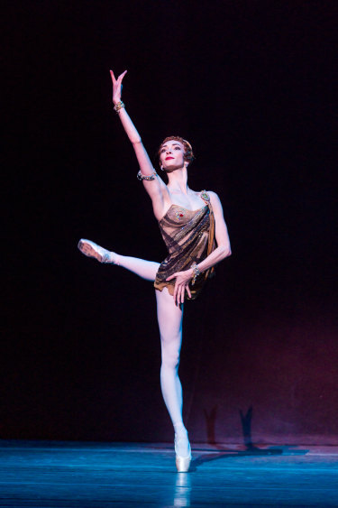 Olga Smirnova was captivating to the core, her lines exquisite and fluidity unmatched.