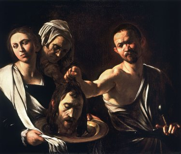 Salome with the Head of John the Baptist: Caravaggio (1610)