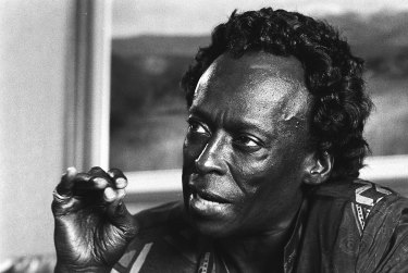 Miles Davis, seen here in 1988, was one of the greatest of all jazz innovators.