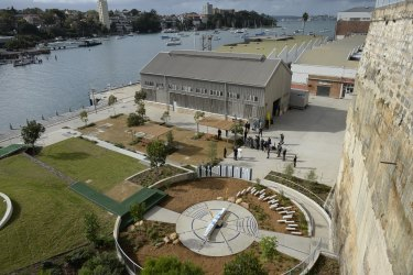 The former HMAS Platypus submarine base will be open to the public for the first time in more than 150 years.