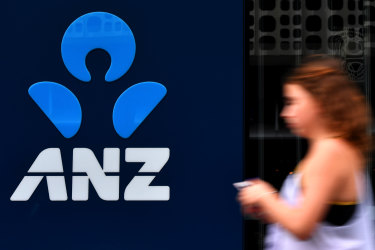 ANZ's first-half cash profit will take a $817m hit.