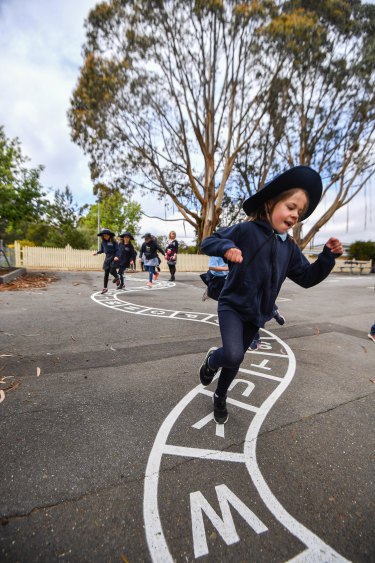 Enrolments at Woodend Primary School have increased 14 per cent over the year.