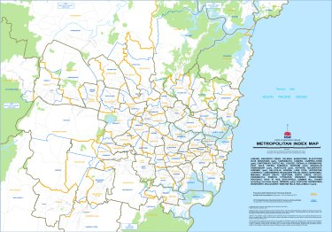 The NSW Electoral Commission's proposed new boundaries in Sydney.
