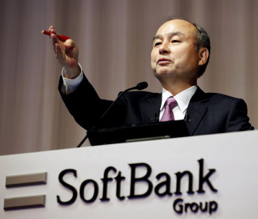 Masayoshi Son is trying to stop the bleeding at SoftBank.