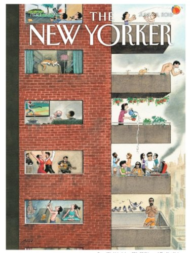 Cover 'City Living', June 25th issue of The New Yorker. Trademark of Advance Magazine Publishers Inc.