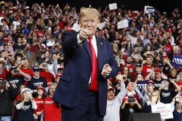 The COVID-19 crisis threatens to derail Donald Trump's election campaign.