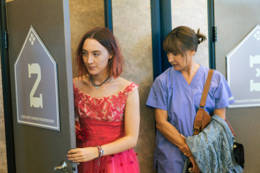 """Saorise Ronan, left, won an oscar nomination for playing a caustic and judgmental 17-year-old in the film Lady Bird. In real life, a teenager's """"emotional turbulence"""" brings its own gains, according to one neuropsychiatrist."""