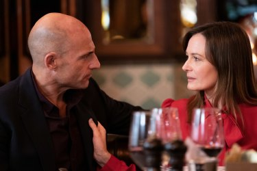 Mark Strong and Catherine McCormack.