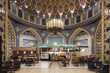 The Persian Court at the Ibn Battuta Mall, Dubai, 2016 by Nick Hannes.