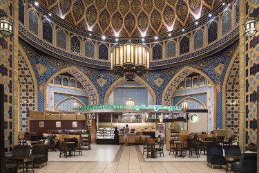 The Persian Court at the Ibn Battuta Mall, Dubai, 2016byNick Hannes.