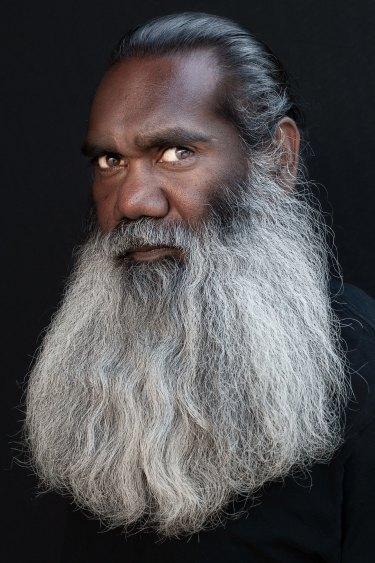 Trevor Jamieson, 2016. Inkjet print.  National Portrait Gallery, Canberra