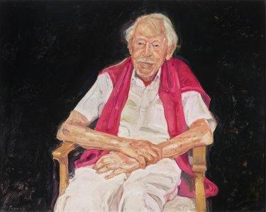 Peter Wegner's Archibald Prize-winning portrait of Guy Warren.