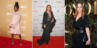 Helping Meghan celebrate: Amanda Gorman, Sophie Gregoire Trudeau, and Stella McCartney.