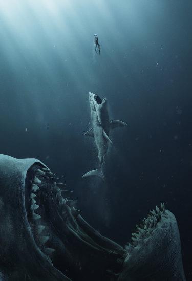 <i>The Meg</i> is like <i>Jaws</i>, only a lot more so.