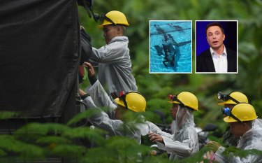 "Elon Musk's child-sized submarine was deemed ""impractical"" for the Thai cave rescue mission."