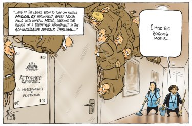 The latest from The Canberra Times' editorial cartoonist David Pope.