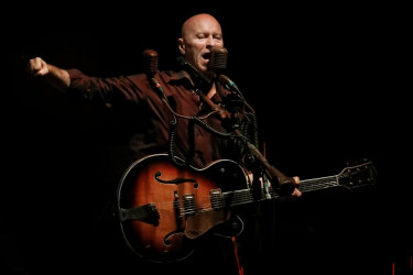 The The's Matt Johnson performs at the Sydney Opera House.