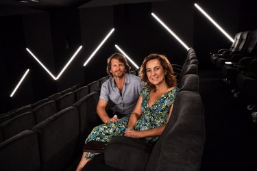Shane Thatcher and Sonya Stephen, creators of the Choovie app.
