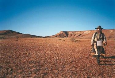 Desert dweller: Jon Muir on his unsupported walk across the centre of Australia.