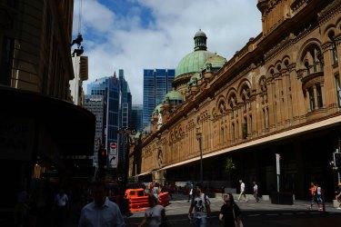 Queen Victoria Building in Sydney.