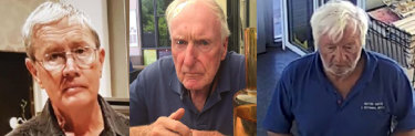 Dementia sufferers Ian Collett, Alexander Henderson and John Irvine were found dead after becoming disorientated and lost.