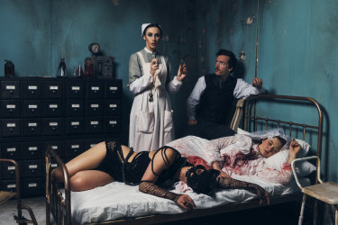 """""""Nothing can be in this world unless it actually relates back to Poe's work,"""" says creative producer Kirsten Siddle."""