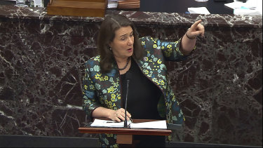 House impeachment manager Diana DeGette.