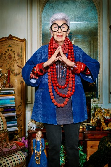 More than an accessory ... Iris Apfel, 94-year-old American style icon.