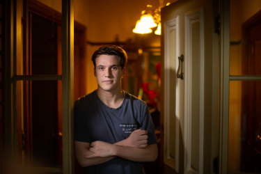 'It's stressing me out to have so much uncertainty': VCE student Ryan Kepper.