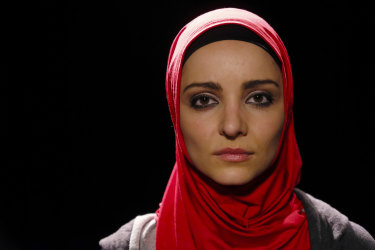 Danielle Horvat plays a young Palestinian woman with uncompromising views.