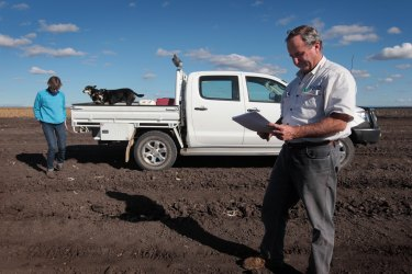 Andrew Pursehouse, whose farm borders the Shenhua project on three sides, says mining must be formally ruled out on the Liverpool Plains.
