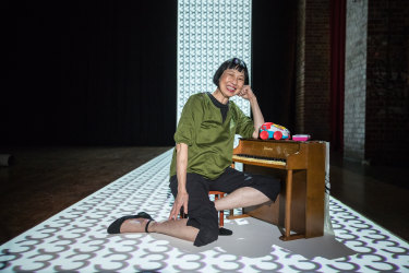 """Margaret Leng Tan:  """"I was thinking I'd do it when I got old, but then I suddenly realised I'm already old and I still haven't done it."""""""