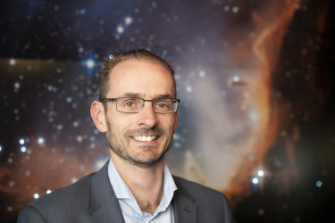 Anthony Murfett, pictured, is the deputy head of the Australian Space Agency, which will be based in Adelaide.