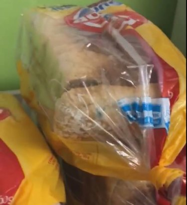 Loaves of mouldy bread were found at Canberra Hospital on the weekend.