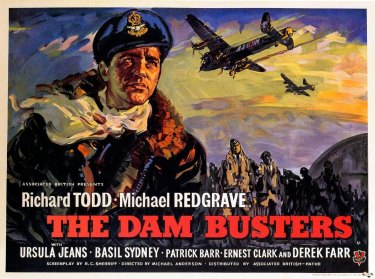 The Dam Busters, released in 1955, remains one of director Michael Anderson's best-known films.