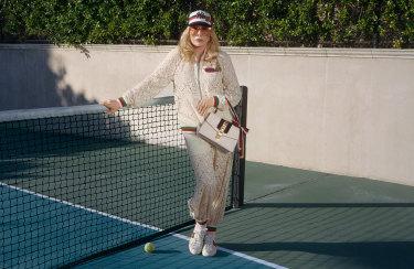 Faye Dunaway in the new Gucci Campagin.