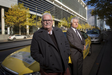 Drivers Rod Barton and Ulysses Gimas have formed a new political party.