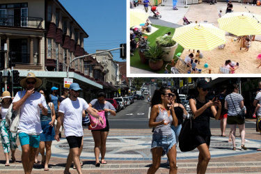 Randwick Council has rejected the plan to swap traffic for outdoor dining and entertainment for now.