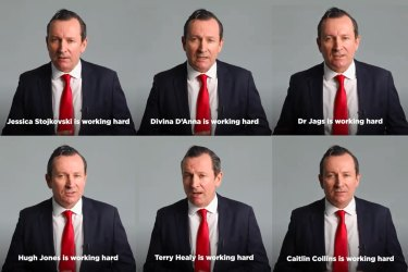 The Mark McGowan factor has been used as the Premier is front and center in social media advertisements where he is endorsing individual candidates.