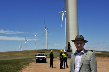 South Australia derives more than 40 per cent of its power from wind and solar energy and Premier Jay Weatherill introduced the battery tender as part of a $550 million response to a summer of blackouts.